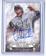 2016 TOPPS TIER ONE CARLOS RODON ON CARD AUTO AUTOGRAPH 56/149 CHICAGO WHITE SOX