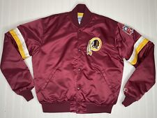 Vtg 1990s Washington Redskins Red Starter Satin Jacket NFL Pro Line EXCELLENT!
