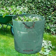 272L Large Heavy Duty Garden Waste Bags Waterproof Refuse Sack Leaves Grass Bins