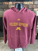 Vintage Adidas Minnesota Golden Gophers NCAA Hooded Sweatshirt Mens Size XL