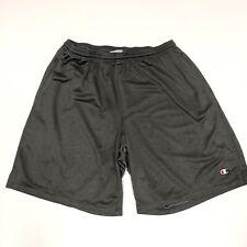 Vtg Champion Mens Xl Gym Shorts Gray 1h37