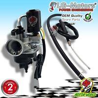 CARBURATORE LG-MOTORS PHVA 17,5 + ARIA AUTOMATICA PIAGGIO ZIP FREE LIBERTY 50 2T