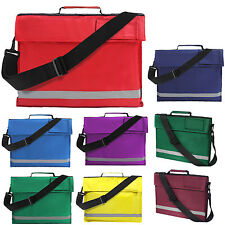Euro A4 Book Bag with Strap Junior School Conference Bag - 5 Colours