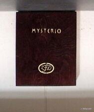 """It's Mysterio<>Black Slots<>La Flor Dominicana Mysterio"""" Wooden Cigar Box<>"""