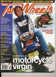 Two Wheels Magazine Feb 2002 Triumph Speed Triple Honda XR650L  Falco Apollo