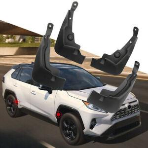 4Pcs For Toyota RAV4 2019-2021 Car Accessories Mud Flaps Mudguard Plastic Fender