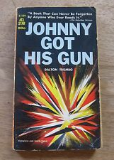 JOHNNY GOT HIS GUN by Dalton Trumbo - 1st printing PB ACE 1959 -