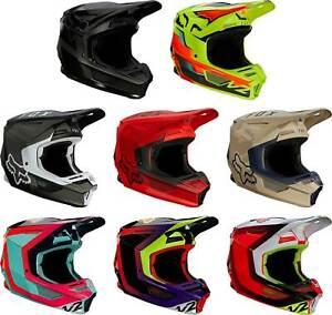 Fox Racing V2 Helmet - MX Motocross Dirt Bike Off-Road ATV MTB UTV Adult