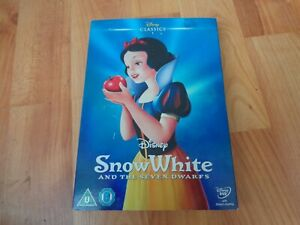 DISNEY CLASSICS #1 SNOW WHITE AND THE SEVEN DWARFS DVD LTD EDITION O RING SLEEVE
