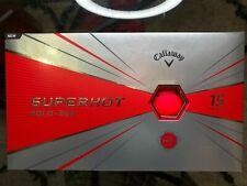 Callaway Superhot Bold - Red - High Energy Core - 15 Golf Balls - FREE SHIPPING