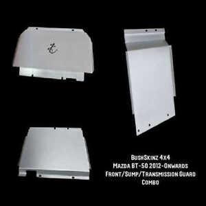 BushSkinz - Mazda BT50 2012-Onwards Front Sump & Transmission Guard / Bash Plate