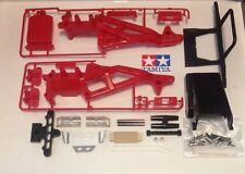 Tamiya Blackfoot chassis LOT frame bumper skid plate Monster Beetle Frog Brat