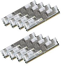 8x 8GB 64GB RAM IBM BladeCenter HS21 XM D2509 PC2-5300F 667 Mhz Fully Buffered