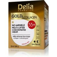 DELIA Gold & Collagen Anti-Wrinkle Cream Concentrate 50ml 55+