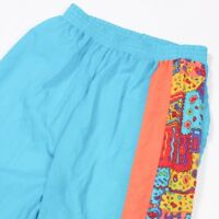 80s Vintage Funky Tracksuit Bottoms | Unisex S | Trackies Festival Track Jogging