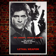 Movie Poster Lethal Weapon - 70x100 CM - Meal Gibson