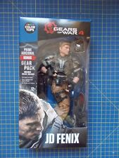 "Gears OF WAR JD Fenix colore BLU Top 7"" figure McFarlane Toys"