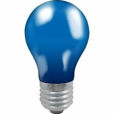Crompton 25 Watt ES Fitting Bulb Blue GLS - Colour Glazed Lamp