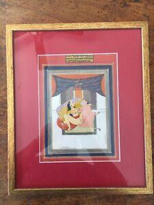 Rare, antique, erotic Indian miniature Hanuman and consort, late19 century India