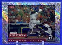 """2021 Donruss AARON JUDGE Live Stream """"RAPTURE"""" REFRACTOR Yankees 💎"""