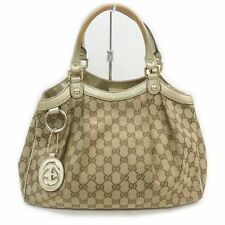 Gucci Tote Bag Sukey GG Browns Canvas 1506654