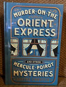 """""""Murder Sur The Orient Express"""" Nouveau et Scellé Cuir Lisérés Livre"""