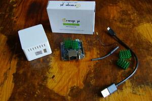 Orange Pi Zero (256MB Ram, WLAN, Ethernet, Allwinner H2+) mit Gehäuse