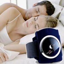 ANTI SNORE Bracciale SNORE STOPPER dispositivo infrarosso intelligente Stop Russare aiuti