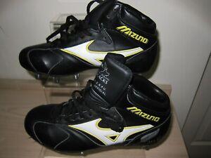 RARE Retro Mizuno New Zealand All Blacks Rugby Boots UK 7.5