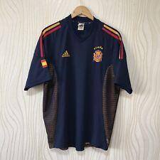SPAIN 2002 2004 AWAY FOOTBALL SHIRT SOCCER JERSEY ADIDAS