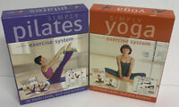 Simply Yoga & Pilates Dvd , Flash Cards & Booklet Box Sets