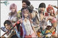Final Fantasy 13 FF XIII Characters JP Games Toys Play Puzzle Jigsaw 1000 PCS