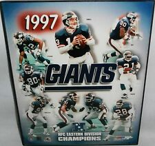 New York Giants Framed Photo  1997 NFC EASTERN DIVISION CHAMPIONS