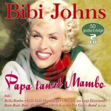 BIBI JOHNS - PAPA TANZT MAMBO-50 GROßE ERFOLGE  2 CD NEW+