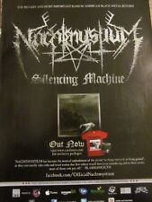 Nachtmystium, Silencing Machine, Full Page Promotional Ad