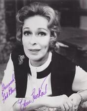 EILEEN HECKART d. 2001 Signed 8x10 Glossy B&W Photo Actres/Bus Stop   COA