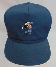 Vintage Walt Disney World Golf Hat Cap Mickey Mouse Adjustable Trucker Baseball