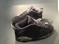 Men's Nike Air Jordan 6 Retro Athletic Shoes Size 9.5M Nubuck #304401-003