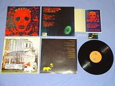 Melvins Basses Loaded LP & Homemade Book Reclaimed Recycled Mackie Cover Signed