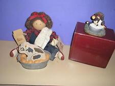 Lizzie High Doll Daphne Bowman Giving Rascal Bubble Barh & Resin Figurine 1988