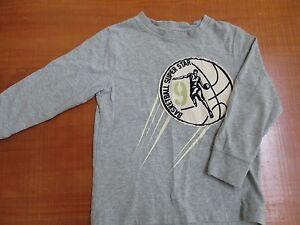 Boys Gymboree Basketball Long Sleeve Shirt Size 4