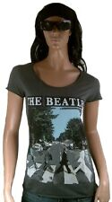 AMPLIFIED Offici. THE BEATLES Abbey Road London Rock Star Vintage T-Shirt g.L 42