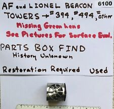 LIONEL & AF ROTATING BEACON - Parts Box Find- Needs TLC & New Layout Home (6100)