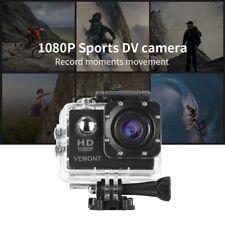 Camara Deportiva de Accion GoPro 1080P HD SDHC Hasta32GB MOV Acuatica+Accesorios