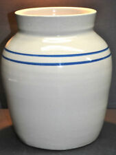 "TWIN LINE ""MARSHALL POTTERY"" CROCK/CHURN POT, NO CRACKS, CHIPS OR WEAR TEXAS"
