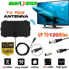 Indoor Digital HDTV TV Antenna Aerial120 Mile Range VHF UHF Freeview Soarview