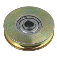 6.4x38x8.3mm Bearing Guide Roller Pulley Rail Groove Idler Wheel