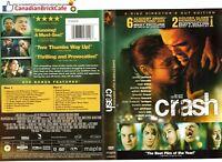 Crash (DVD, 2006, Canadian; Director's Cut)