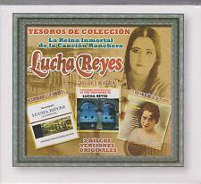SEALED Lucha Reyes 3 CD's La Reina Inmortal De La Cancion Ranchera 887254519027