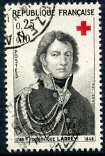 STAMP / TIMBRE FRANCE OBLITERE N° 1434 CROIX ROUGE DOMINIQUE BARON LARREY